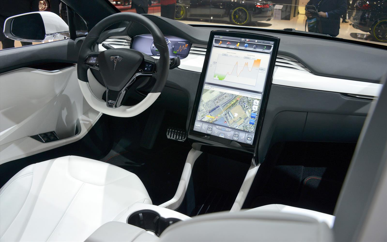 tesla model x 2013 interior front seat driver. Black Bedroom Furniture Sets. Home Design Ideas