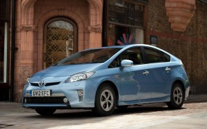 Top Five Congestion Charge Beaters 2013 Toyota Prius Plug-in Hybrid