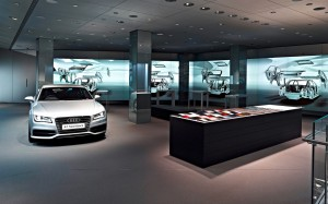 Audi City Showroom 2013 Interior