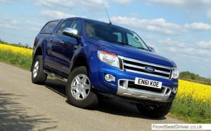 Ford Ranger 2013 Front