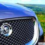 Jaguar XJ 2013 Grille Detail