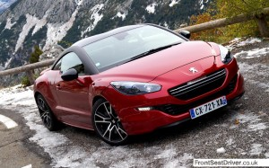 Peugeot RCZ R 2013 Front End Phil Huff FrontSeatDriver.co.uk
