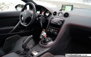 Peugeot RCZ R 2013 Interior Phil Huff FrontSeatDriver.co.uk