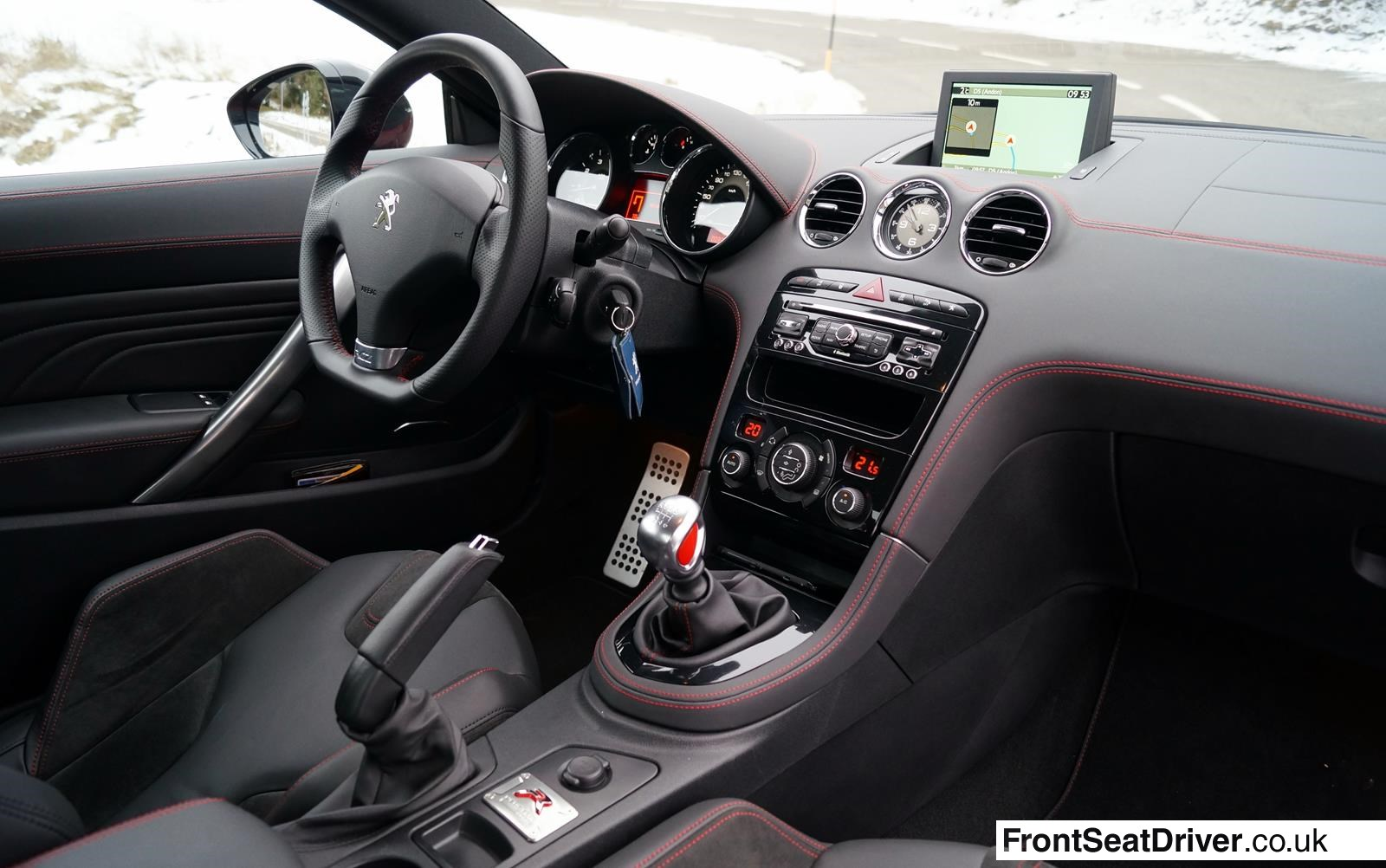 peugeot rcz interior the image kid has it. Black Bedroom Furniture Sets. Home Design Ideas