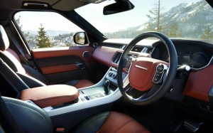 Range Rover Sport 2013 Red Interior Phil Huff FrontSeatDriver.co.uk