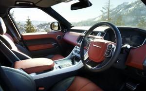 Range Rover Sport 2013 Red Interior Phil Huff FrontSeatDriver.co.uk