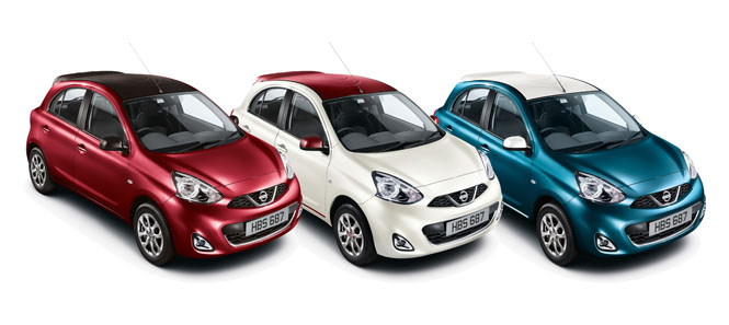 Nissan Micra Limited Edition 2014 665x297
