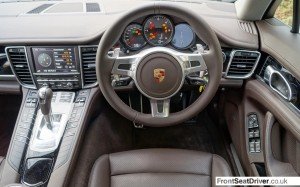 Porsche Panamera Diesel 2013 Dashboard Phil Huff FrontSeatDriver.co.uk