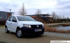 Top Ten 2013 Dacia Sandero Phil Huff FrontSeatDriver.co.uk