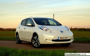 Top Ten 2013 Nissan Leaf Phil Huff FrontSeatDriver.co.uk