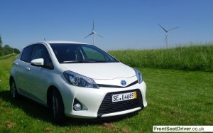 Top Ten 2013 Toyota Yaris Hybrid Phil Huff FrontSeatDriver.co.uk