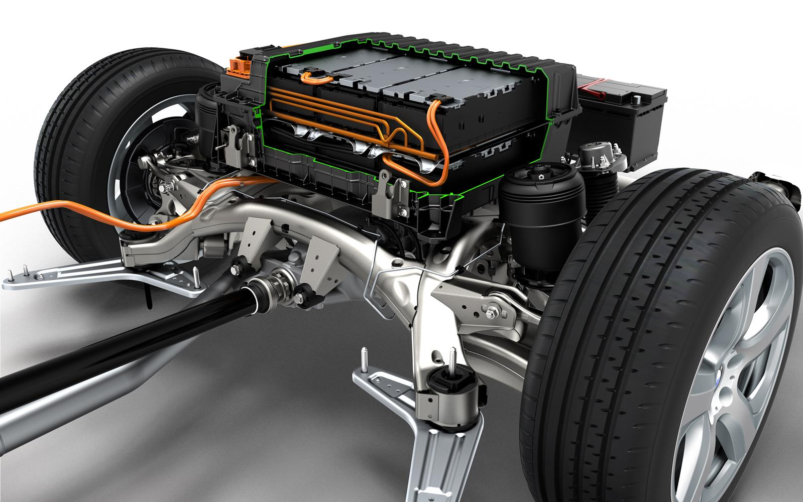 Bmw X5 Edrive Phev Prototype 2014 Battery Pack