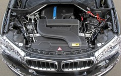 BMW X5 eDrive PHEV Prototype 2014 Engine Bay FrontSeatDriver.co.uk