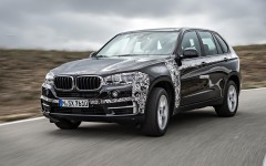 BMW X5 eDrive PHEV Prototype 2014 Front Left FrontSeatDriver.co.uk