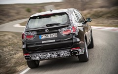 BMW X5 eDrive PHEV Prototype 2014 Rear FrontSeatDriver.co.uk