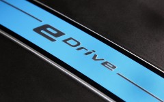 BMW X5 eDrive PHEV Prototype 2014 eDrive Detail FrontSeatDriver.co.uk