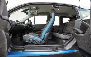 BMW i3 2013 Interior FrontSeatDriver.co.uk