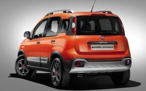 Fiat Panda Cross 2014 Rear FrontSeatDriver.co.uk