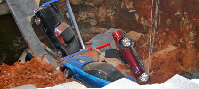 National Corvette Museum Sinkhole Collapse 2014 665x297 c