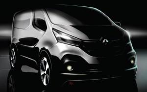 Renault Trafic 2014 Teaser FrontSeatDriver.co.uk
