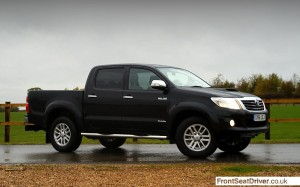 Toyota Hilux 2014 Phil Huff FrontSeatDriver.co.uk