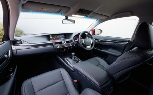 Lexus GS 300h 2014 Interior FrontSeatDriver.co.uk