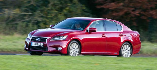 Lexus GS 300h 2014 Red 620x277