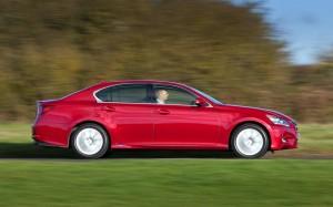 Lexus GS 300h 2014 Right Profile FrontSeatDriver.co.uk