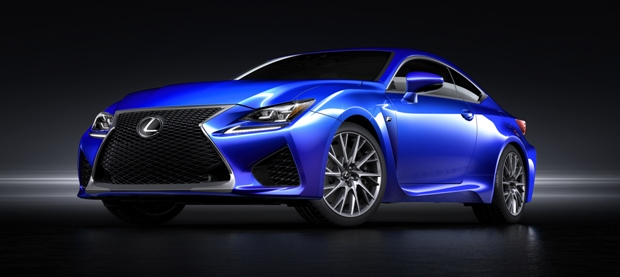 stunning rc f finally makes lexus desirable (with video) – front