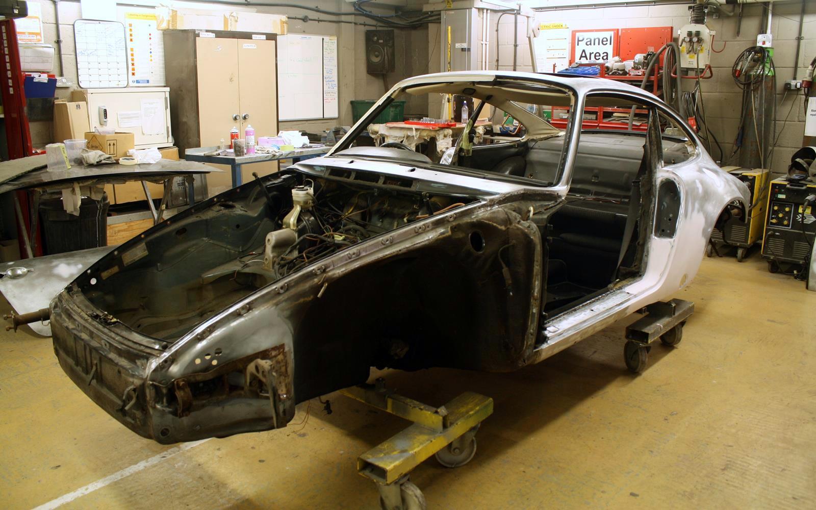 Porsche 911 Sc Restoration 1982 Phil Huff 7 Front Seat