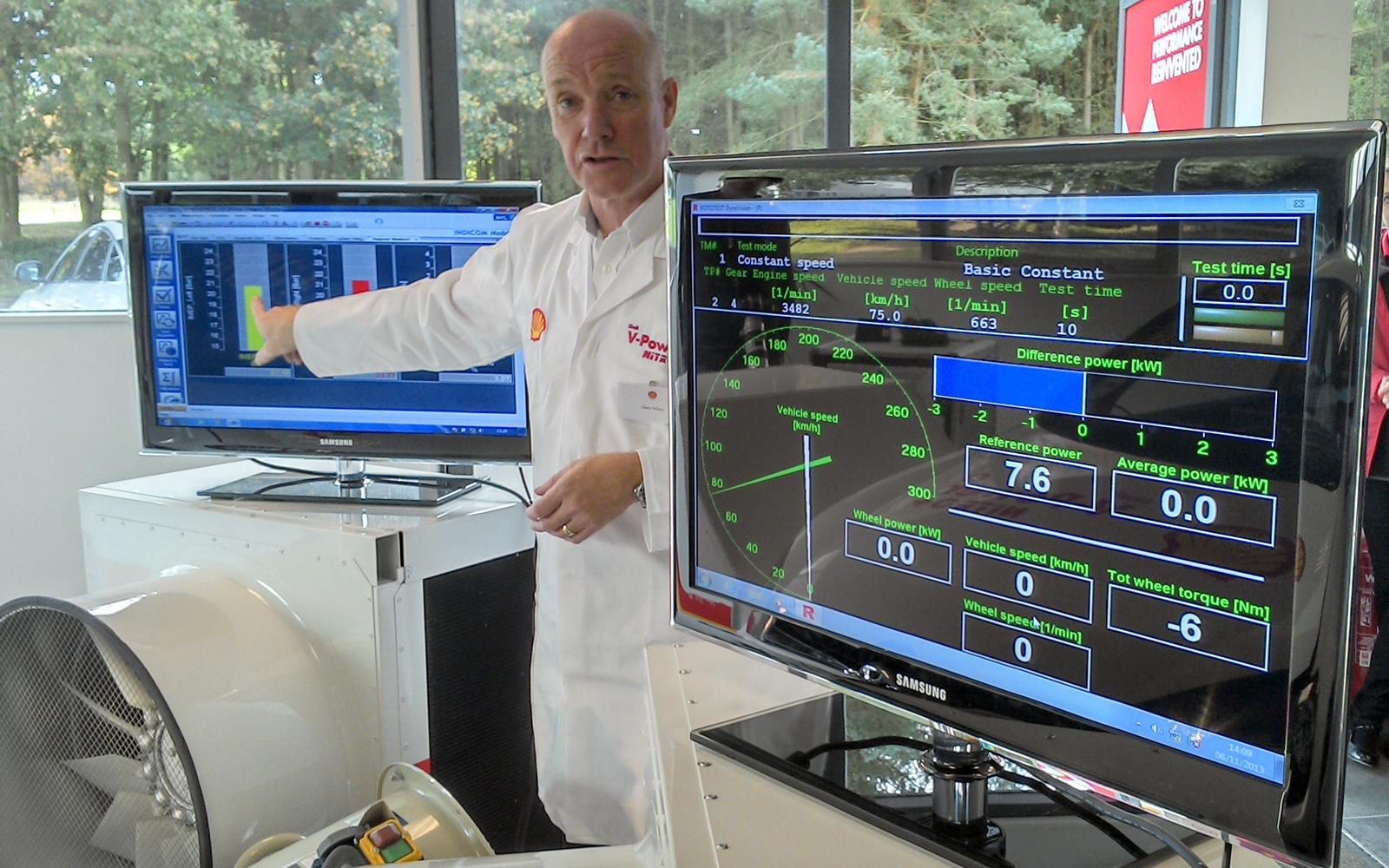 Shell V-Power Nitro+ 2014 Science Phil Huff FrontSeatDriver.co.uk