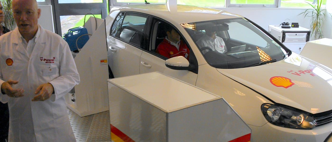 Shell V-Power Nitro+ 2014 Test Car