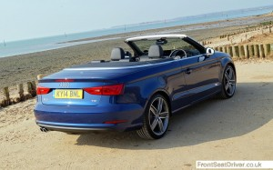 Audi A3 Cabriolet 2.0 TDI Sport 2014 High Rear Phil Huff FrontSeatDriver.co.uk