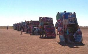 Route 66 2014 Cadillac Ranch