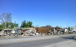 Route 66 2014 Baxter Springs Tornado Street