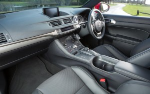 Lexus CT 200h 2014 Interior FrontSeatDriver.co.uk