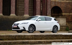 Lexus CT 200h 2014 Low Profile Phil Huff FrontSeatDriver.co.uk