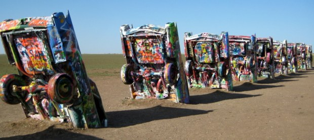 Route 66 Cadillac Ranch 2014 620x277