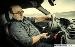 Alfa Romeo 4C 2014 Driving FrontSeatDriver.co.uk