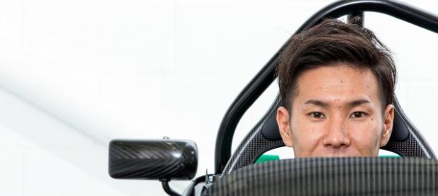Caterham Seven Kamui Kobayashi 2014 620x277