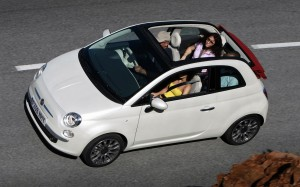 Fiat 500C 2012 Overhead FrontSeatDriver.co.uk