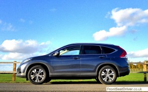 Honda CR-V 2013 Profile Phil Huff FrontSeatDriver.co.uk