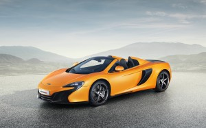 McLaren 650S Spider 2014 Front Left FrontSeatDriver.co.uk