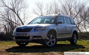 Skoda Yeti Outdoor 2014 Front Phil Huff FrontSeatDriver.co.uk