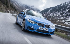 BMW M3 2014 Front FrontSeatDriver.co.uk