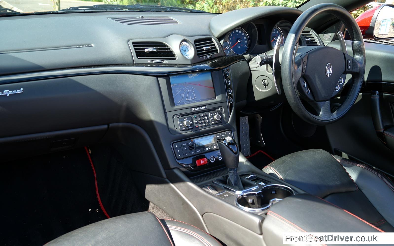 Maserati Grancabrio Sport 2014 Gallery Front Seat Driver