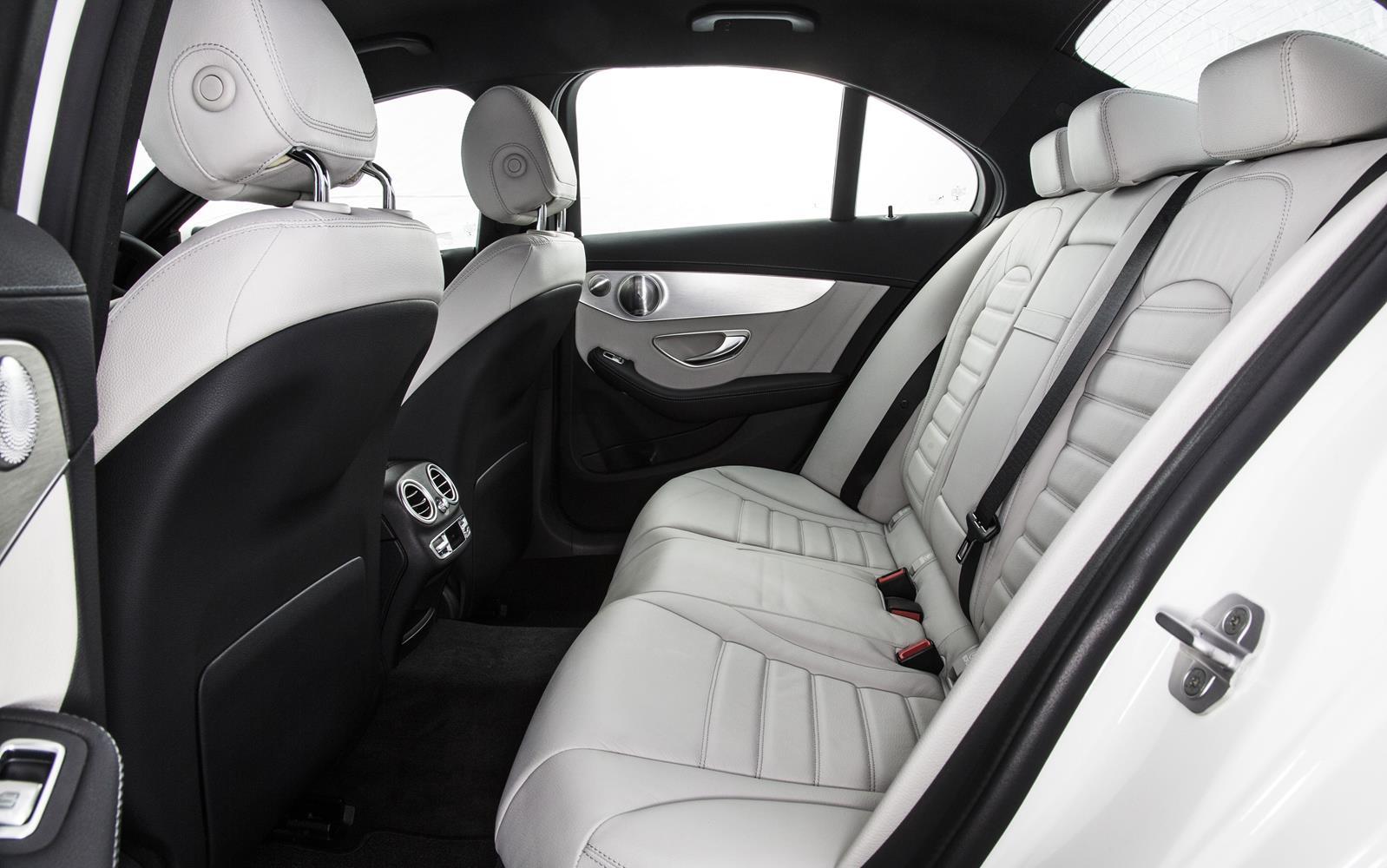 Mercedes C Class Salooon 2014 Rear Seats Frontseatdriver
