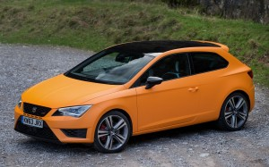 SEAT Leon Cupra 2014 High FrontSeatDriver.co.uk