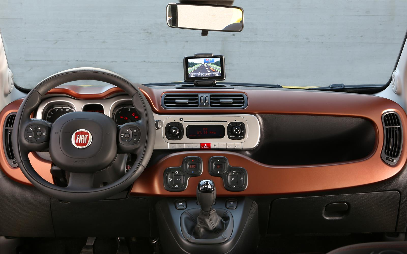 Fiat Panda Cross 2014 Dashboard FrontSeatDriver.co.uk