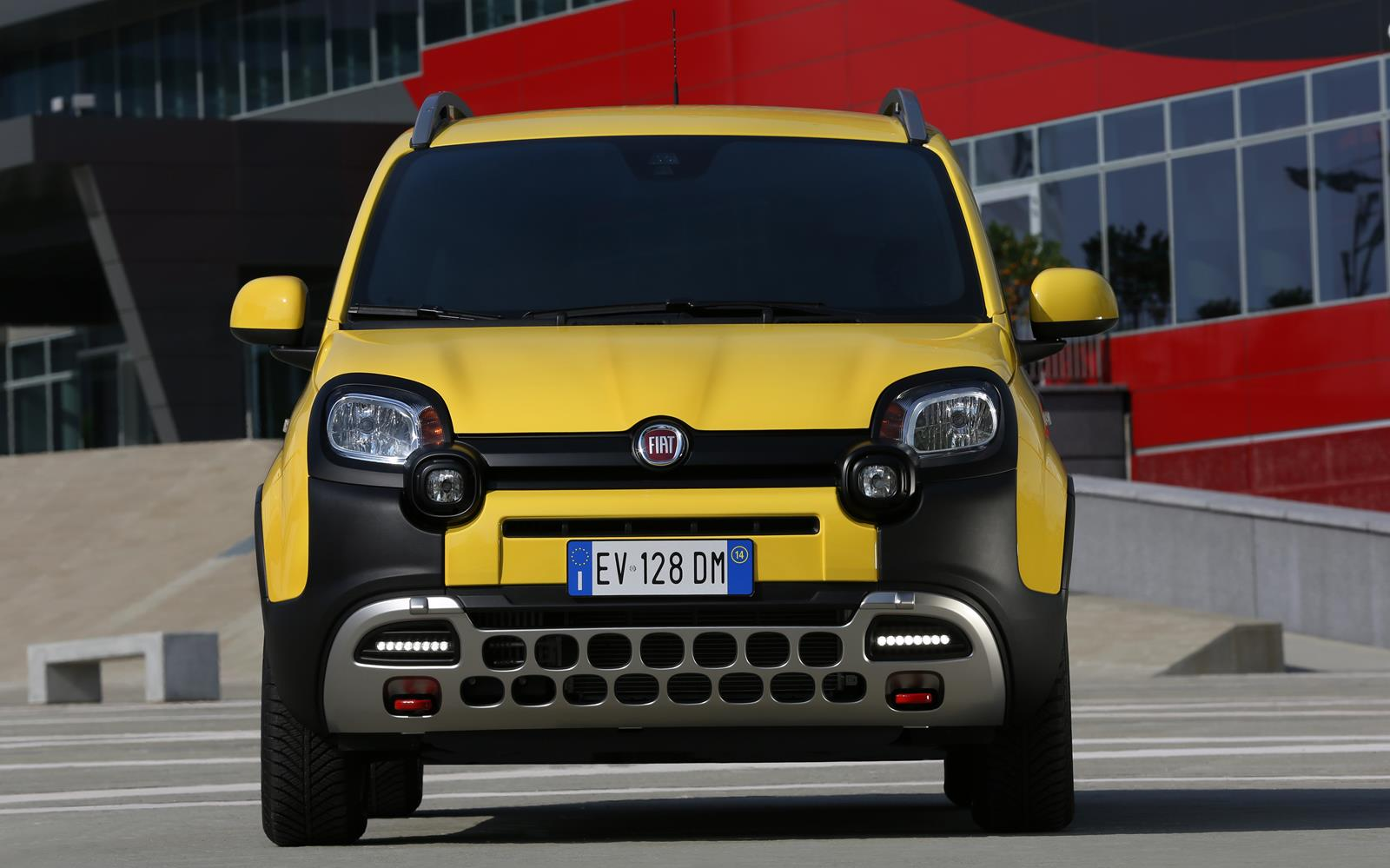 Fiat Panda Cross 2014 Front FrontSeatDriver.co.uk